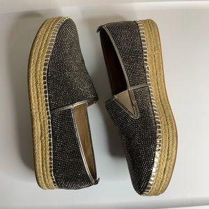 Steve Madden choppur studded espadrilles shoes 9B